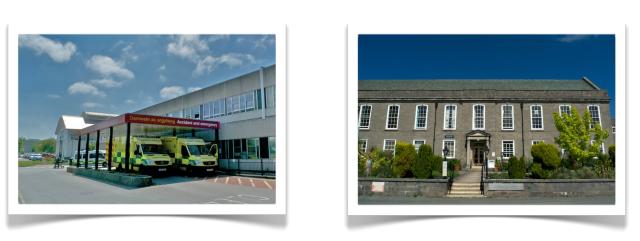 Glan Clwyd and Abergele Hospitals