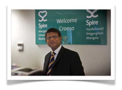 Mr Sinha at Spire Yale Hospital